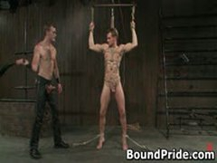 Christian Trent Gets His Tortured Ass Fcuked 5 By BoundPride