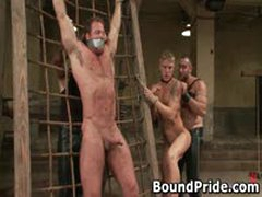 Extreme Gay Bondage Groupsex 4 By BoundPride