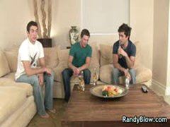 Super Hot Studs In Gay Foursome Porn Action 3 By RandyBlow