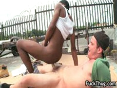 Black Gay Guy Sucks Some Nice White Jizzster 2 By FuckThug