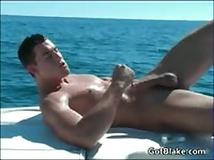Hot Stud Wanking His Jizzster On A Boat By Gotblake