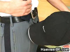 Dude Gets His Tight Hairy Anus Rimmed 1 By HammerBF