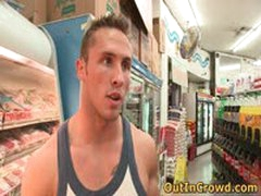 Muscular Gays Having Public Sex In A Supermarket 2 By OutInCrowd