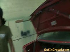 Cute Blond Gay Gets Sucking And Fucking In A Service Station 4 By OutInCrowd