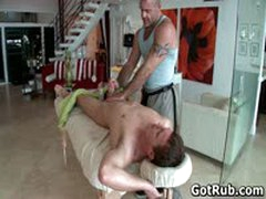 Hunky Guy Gets Oiled Up And Gay Massaged 4 By GotRub