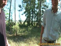 Cute Twink Enjoys Outdoor Gay Sex On The Grass 3 By OutInCrowd