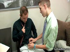 Dylan Chambers Gets Fucked And Sucked At Work By Tyler Andrews 2 By GotGayBoss