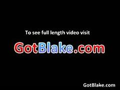 Cute Aaron Jerking His Massive Boner 2 By GotBlake