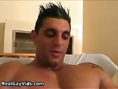 Chris N Pulling His Crazy Firm Gay Meatstick 6 By RealGayVids