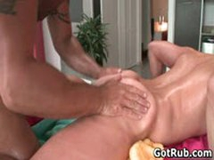 Lucky Guy Gets Ass Oiled And Fucked Deep And Hard 6 By GotRub