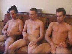 Straight Boys Threesome