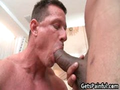 Tattooed Hunk Gets His Tiny Ass Fucked By Black Jizzster 2 By GetsPainful