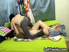 Cute Tyler Bolt And Josh Bensan Gay Fucking On Bed 1 By LolliTwinks