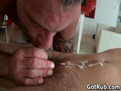 Hunky Guy Gets Oiled Up And Gay Massaged 10 By GotRub
