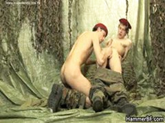 Hairy Soldier Jerking His Hard Jizzster 3 By HammerBF