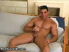 Chris N Masturbating His Pleasure Firm Gay Hardon 2 By RealGayVids