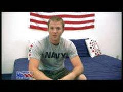 Navy Seal Beats His Cock Off