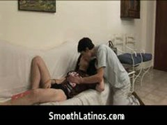 Marcel And Fabricio Fucking And Sucking On A Bed 1 By SmoothLatinos