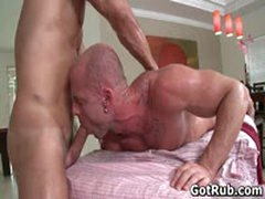 Muscled Guy Gets His Fine Tatooed Ass Fucked 3 By GotRub
