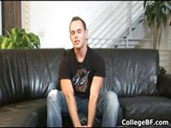 Devin Adams Wanking His Fine College Dick 1 By CollegeBF