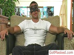 Amazing Masked Hunk Jerking Off Cock 1 By GotMasked
