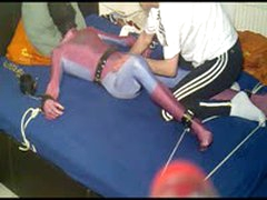 Spiderman In Bondage Breathcontroled