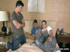 Brett, Patrick And Reese Gay Threesome Porn 3 By RandyBlow