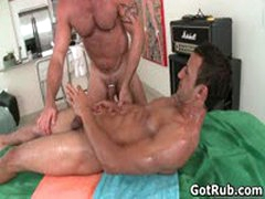 Massage Pro Gets His Fine Ass Fucked By Muscled Dude 4 By GotRub