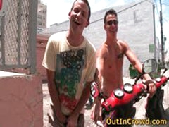 Horny Gays On Scooters Have Some Public And Outdoor Sex 3 By Outincrowd