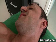 Massage Pro Gets His Fine Ass Fucked By Muscled Dude 3 By GotRub