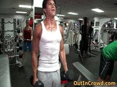 Gay Fuck In Public Gym 5 By Outincrowd
