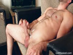 Masked Dude Wanking Off And Cums 3 By GotMasked
