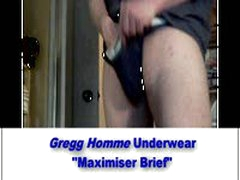 Underwear Showoff