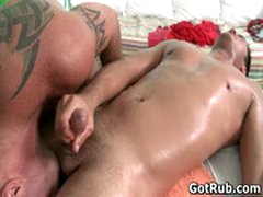 Two Amazing Hunks In Sexy Gay Massage Action 5 By GotRub