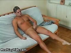 Julian Masturbating His Funny Firm Gay Jizzster 1 By RealGayVids