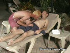 Bareback Twinks By The Pool