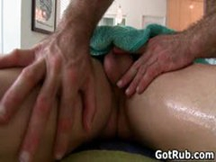 Tattooed Hunk Gets His Smooth Ass Rimmed 4 By GotRub