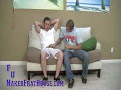 Tattooed Str8 Boy Get His First Gay....