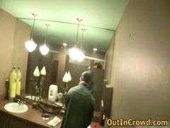 Gay Twink Sucks On The Street And Fucking On The Public Toilets 6 By OutInCrowd