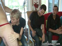 Group Of Horny Man And One Gay Cock 3 By CockSausage