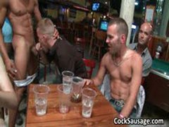 Large Group Of Horny Dudes Go Crazy 3 By CockSausage