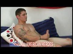 Muscle Tattooed Marine