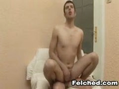 Hot Bareback Sex With Sperm Felching