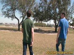 Horny Gays Have Some Outdoor Fuck 6 By Outincrowd