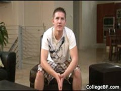 Chad Macon Wanking His Fine College Dick 1 By CollegeBF