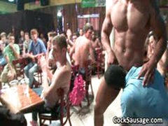 Large Group Of Horny Dudes Go Crazy 5 By CockSausage