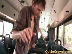 Young Dudes Having Gay Sex In The Bus 4 By OutInCrowd