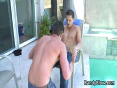 Andrew And Roman Fuck And Suck By The Pool 5 By RandyBlow