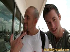 Muscular Horny Gays Having Public Sucking And Fucking In A Restaurant 1 By OutInCrowd
