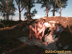 Youn Dudes Enjoys Outdoor Gay Fucking 4 By OutInCrowd
